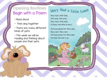 Journeys Kindergarten Unit 1: Lesson 3: Days, 1-5 SmartBoard