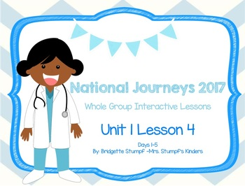 2017 National Journeys Unit 1: Lesson 4: Days, 1-5 Kindergarten SmartBoard