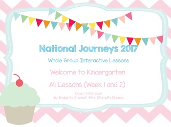 2017 National Journeys Unit 1: WTK All Lessons 1-2: Days, 1-5  K. SmartBoard