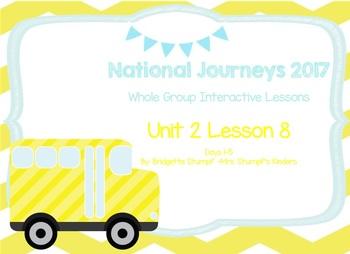 2017 National Journeys Unit 2: Lesson 8: Days, 1-5 Kindergarten SmartBoard