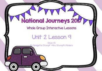 2017 National Journeys Unit 2: Lesson 9: Days, 1-5 Kindergarten SmartBoard