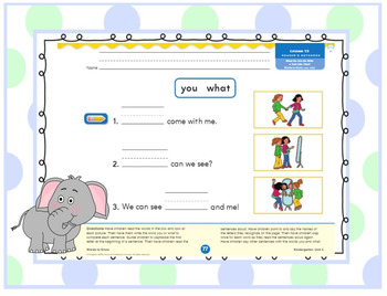 Journeys Kindergarten Unit 3: Lesson 13: Days, 1-5 SMART board