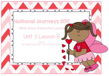 2017 National Journeys Unit 3: Lesson 15: Days, 1-5 Kindergarten SmartBoard