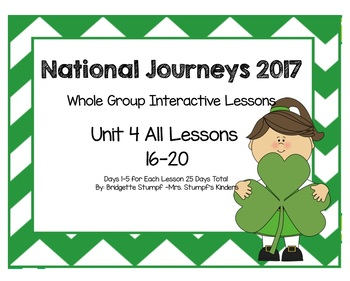 2017 National Journeys Unit 4: All Lessons (Lessons 16-20 Days 1-5 SmartBoard)