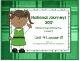 2017 National Journeys Unit 4: Lesson 18: Days, 1-5 Kindergarten SmartBoard
