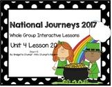 2017 National Journeys Unit 4: Lesson 20: Days, 1-5 Kindergarten SmartBoard