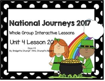 2017 National Journeys Unit 4: Lesson 20: Days, 1-5 Kinder