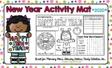 2019 - New Year Activity Mat - A Page FULL Of New Year's Activities!