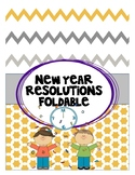 2017 New Year Resolution Foldable