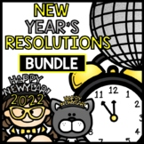 2019 New Year's Resolutions - BUNDLE - Reading Writing - Interactive Notebook