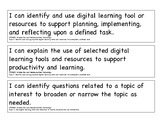 2017 Ohio Learning Standards in Technology 3 - 5 I Can Statements