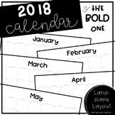 2017 Printable Calendar - The BOLD One