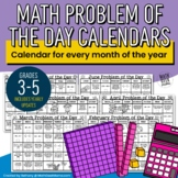 2018 Problem of the Day Calendars for Grades 3-5