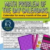 2019 Problem of the Day Calendars for Grades K-2