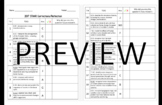 2017 Released STAAR Science Test- Student Reflection/Corrections Sheet