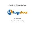 2017 STAAR Math 3rd Grade Practice Test!