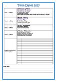 2017 School Calendar  + Term Date QLD State Schools