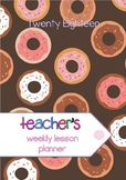 2018 Secondary Teacher Planner - Back to School #AUSB2S18