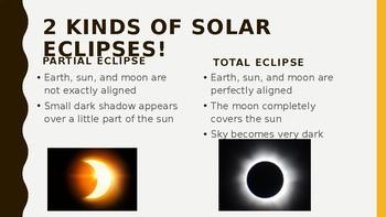 2017 Solar Eclipse Lesson