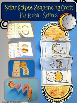 2017 Solar Eclipse Sequencing Craft and Solar Eclipse Posters