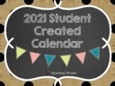 2018 Student Created Calendar/Parent Gift