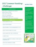 2017 Summer Reading Challenge