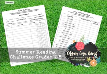 2017 Summer Reading Packet K-5