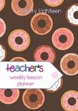 2018 Primary Teacher Planner - #AUSB2S18 #BacktoSchool #BT