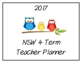 2017 Teacher Planner: NSW (Owl Theme)