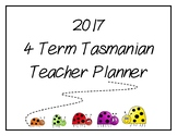 2017 Teacher Planner: Tasmanian (Bug Theme)