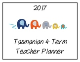 2017 Teacher Planner: Tasmanian (Elephant Theme)