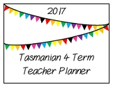 2017 Teacher Planner: Tasmanian (Flag Theme)