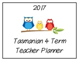 2017 Teacher Planner: Tasmanian (Owl Theme)