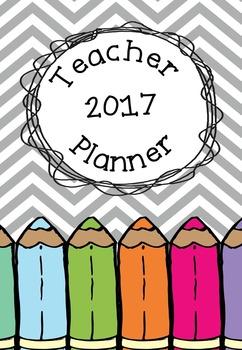 2017 Teacher Planner - The Teacher Patch