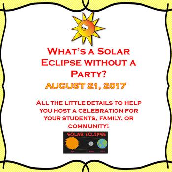 2017 Total Solar Eclipse Party Plans