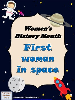 2017 Women's History Month-1st woman in space-reading + pr