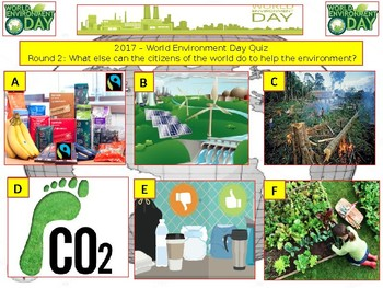 2017 - World Environment Day Week - 7 rounds and over 40+ Questions