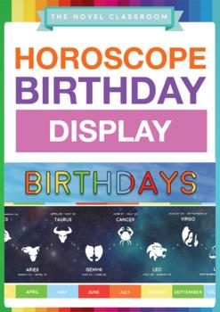 Horoscope Birthday Banner Display