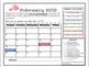 2018-19 Behavior Calendars [EDITABLE]