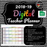 2018-19 Digital Teacher Planner with Google Sheets