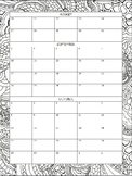 2018-19 First Quarter Planning Pages