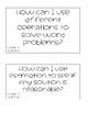 2018-19 NC 4th Grade Math Essential Questions