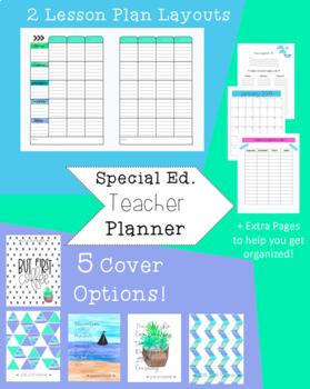 2018-19 Special Education Teacher Planner