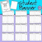 Student Planner 2018-19/Student Agenda - Simple Format/Ink Saver