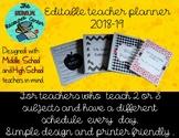 2018-19 Teacher Planner