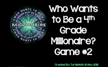 2018 - #2 4th Grade Who Wants To Be a Millionaire STAAR Review Game Show