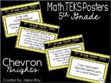 """2018-2019 5th Grade Math TEKS """"I Can"""" Statement Posters:CH"""