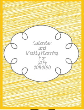 2018-2019 Calendar and Planning for SLPS
