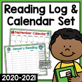 2018 - 2019 Calendar and Reading Logs - Editable