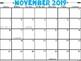 2018-2019 Calendars